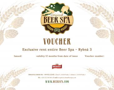 Exclusive rent entire Beer Spa - Rybná 3